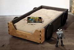 Woodly Race Car Bed | MotorCove