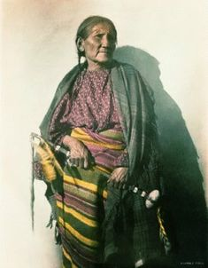 Vo'estaa'e (aka Woostah, aka White Cow, aka White Buffalo Woman) the daughter of Dull Knife - Northern Cheyenne – 1907
