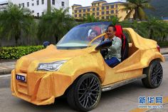 Chinese Company 3D Prints a Full-size Working Car for Just $1770 http://3dprint.com/53532/chinese-3d-printed-car/