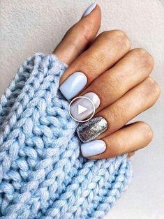 How to make shellac nails at home (in 8 incredibly easy steps!) # ... #easynails #nailartvideos #nailart
