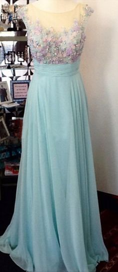 #mint  #chiffon #prom #party #evening #dress #dresses #gowns #cocktaildress…
