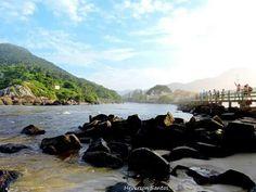Praia da Armação. Sul da Ilha. Florianópolis. Imagem: Heverson Santos