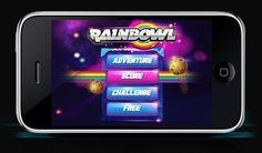 Rainbowl by Gabriel Mourelle, via Behance