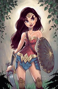 Hello les amis! Le film Wonder Woman a finalement réussit à charmer les fans de comics. Il est encore dans les salles de cinéma si vous n'êtes pas encore allé le voir. Des dessinateurs professionnels se sont empressés de dessiner cette super héroïne.