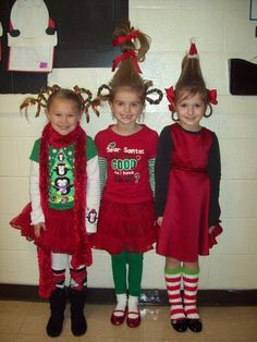 """Huntingdon Primary School: Highlights > """"Check out these characters from Whoville! Grinch Party, Le Grinch, Grinch Christmas Party, Grinch Who Stole Christmas, Christmas Christmas, Grinch Stuff, Christmas Program, Christmas Concert, Christmas Parties"""