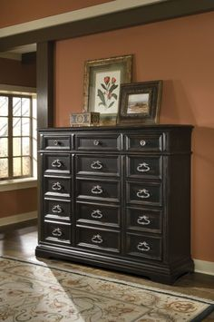 Brookfield Gentlemans Chest - 15 Drawers by Pulaski Furniture at Furniture Outlet World  Dimensions: 64W x 18D x 55H  Collection: Brookfield    Regular Price: $2265.00 Sale Price: $1285.00