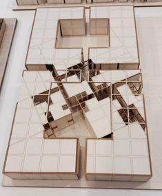 AA School of Architecture exhibition model 2014
