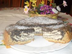 Mákos túró torta (gluténmentesen)