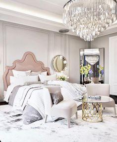 Modern bedroom, bedroom inspo, home decor bedroom, bedroom furniture, h Luxury Bedroom Furniture, Luxury Bedroom Design, Home Decor Bedroom, Luxury Bedding, Bedroom Inspo, Bedroom Ideas, Bedroom Scene, Bedroom Table, Apartment Interior Design