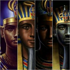 never forget we were more than slaves Egyptian Kings, Ancient Egyptian Art, African American Artwork, African Art, African Culture, African History, Kemet Egypt, Black Royalty, African Royalty