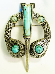 CELTIC PENANNULAR BROOCH by miracle by mytesoros on Etsy, $45.00