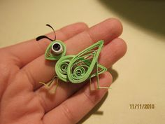 Quilled grasshopper