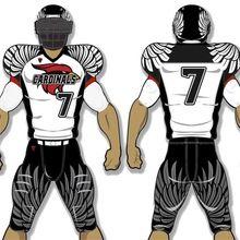 7afd5b6507b Sublimation Custom made football jersey american youth american football  jersey Youth Football Uniforms, Sports Uniforms