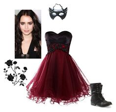 """""""...Gone Bad."""" by sarah-narnia ❤ liked on Polyvore featuring Versace"""