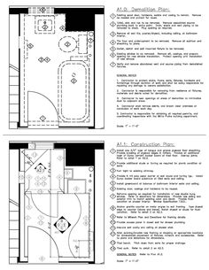 Restroom Demolition Plan