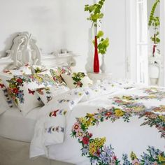 Horrockses bedding.  Too much???