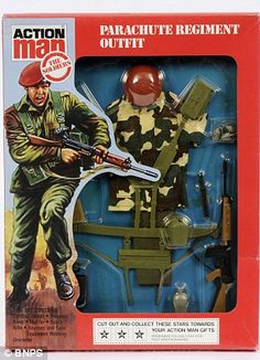 Cant Find In The Shops. Some Invaluable Tips On Finding The Best Toys. In the past, toys were simple and playtime was basic. Now, toys are very complicated and unique. Gi Joe, Retro Toys, Vintage Toys, 1970s Toys, Vintage Stuff, Childhood Toys, Childhood Memories, Parachute Regiment, Military Action Figures