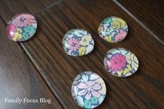 This fun little tutorial shows you how to make glass gem magnets in just a few easy steps.  They make great fridge decor or DIY gifts. It is easy to make these…
