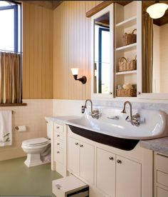 I love this old school sink made new