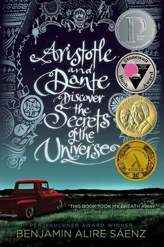 30 Young Adult Books Every Actual Adult Should Read #refinery29  http://www.refinery29.com/2015/06/88523/young-adult-books#slide-12  Aristotle and Dante Discover the Secrets of the Universe, Alire SáenzA book about being 15, queer, and of color in the '80s. Not a barn burner like some of the others on this list, but a delicate, lyrical investigation of character, sexuality, and one very important relationship unfolding over one long summer that will stick with you for years.