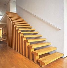 Rustic/Wooden Stair Design Ideas