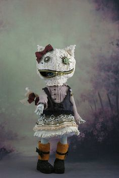 .Evil offspring of the Cheshire Cat & the White Rabbit