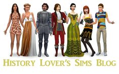 History Lover's Sims Blog: This in general, look through it.