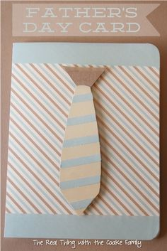 Father's Day Handmade Card (Tutorial)