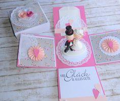 Geldgeschenke - Geldgeschenk Hochzeit - ein Designerstück von Zauberhafte-Lieblingswerke bei DaWanda
