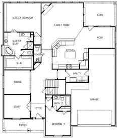 Amber, first floor, 3300 sq ft Master Bath, Master Bedroom, Barndominium Floor Plans, Amber, Family Room, Law, Flooring, How To Plan, Nice