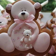Decorated Bear Sugar Cookies