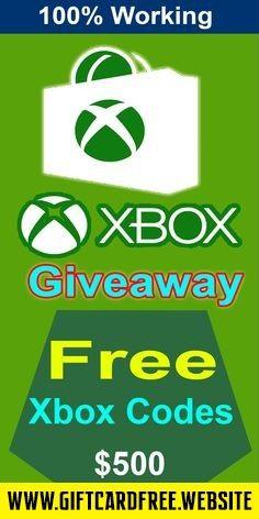 Free xbox codes Free Xbox