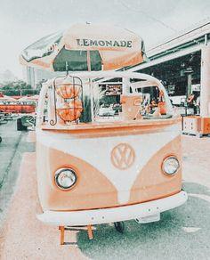 aesthetic ice cream van truck
