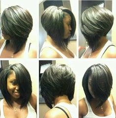 Looking for brand new bob hairstyles for a drastic change? Here we have rounded Inverted Bob Hairstyles that you will adore immediately! Inverted bob is. Short Human Hair Wigs, Short Bob Wigs, Short Hair Cuts, Short Hair Styles, Bob Styles, Inverted Bob Hairstyles, Wig Hairstyles, Hairstyles 2018, Bob Haircuts