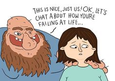 Artist Suffering From Anxiety And Depression Illustrates Her Life - Artist suffering from anxiety depression turns her life into funny illustrations