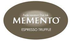 Tsukineko - Memento Dew Drop Espresso Truffle