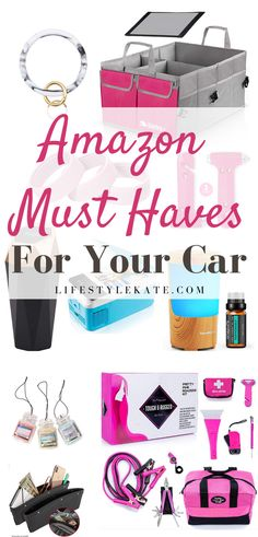Best Amazon Buys, Car Accessories For Girls, Auto Accessories, Travel Accessories, Car Essentials, Car Gadgets, Car Storage, Car Hacks, Cute Cars