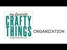 My Favorite Crafty Things: Organization... Discounts + BIG Giveaways - Jennifer McGuire Ink