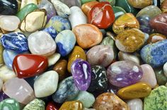Amazon.com - Hypnotic Gems Materials: 2 lbs XLg Brazilian Tumbled Polished Natural Stones Assorted Mix - Gemstone Supplies for Wicca, Reiki, and Energy Crystal Healing *Wholesale Lot* - Gemstones Lb Large Mix