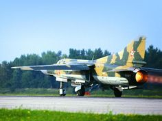 """7248d39f9454 partisan1943: """" MiG-23 fighter of the Hungarian People's Air Force. """"  Katonai"""