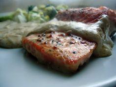 LCHF-bloggen: Ørret med soyasaus og crème fraîche