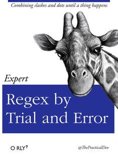 Expert Regex by Trial and Error: Combining slashes and dots until a thing happens
