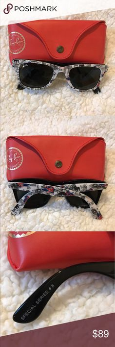 RAY-BAN London Special Series Sunglasses Like new London Special Series #8 authentic Ray-Ban sunglasses. There are no signs of wear on the sunglasses. These are a unique buy! Can be either women's or men's! Ray-Ban Accessories Sunglasses