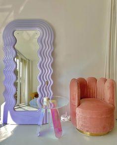 Pastel Room Decor, Cute Room Decor, Cafe Design, House Design, Interior Design, Retro Living Rooms, Apartment Essentials, Pinterest Home, Dream Furniture
