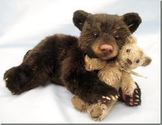 Realistic teddy bear