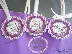 Momma Eva's  NEW ITEM // Purple Paris Gift by MommaEvaBoutique, $8.50