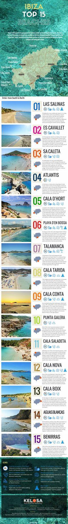 Ibiza's top 15 stranden