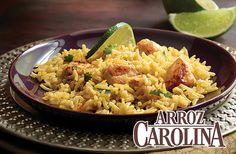 """Disfruta los aromas de Marruecos en tu casa con este """"Arroz con Pollo Marroquí."""" Preparado con nuestro Arroz Basmati."""