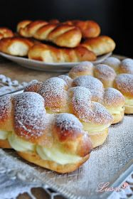Bulgarian Recipes, Bulgarian Food, Bread And Pastries, Dessert Recipes, Desserts, Crepes, Doughnut, Food To Make, Cooking Recipes