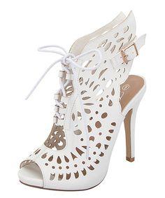 Loving this White Giana Sandal on #zulily! #zulilyfinds